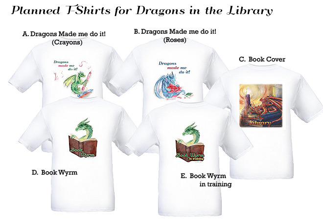 Stretch goal rewards...T-shirts!  Only $14 for backers!