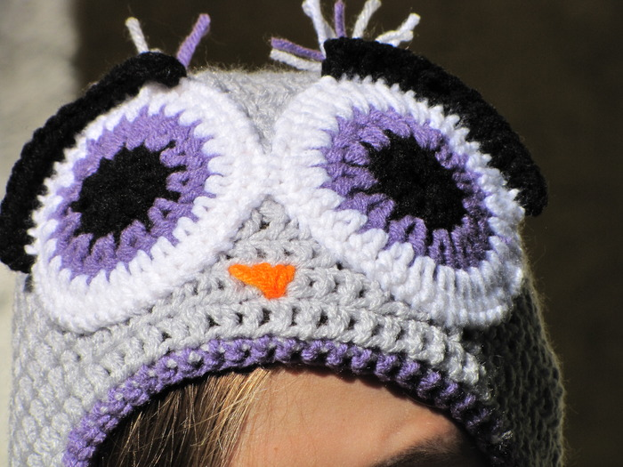This is an Owl Hat named Trent. Trent is a retired bus driver from Leeds, who upon retiring decided to start life a new as a fashionable hat. We support Trent and his life style choices.