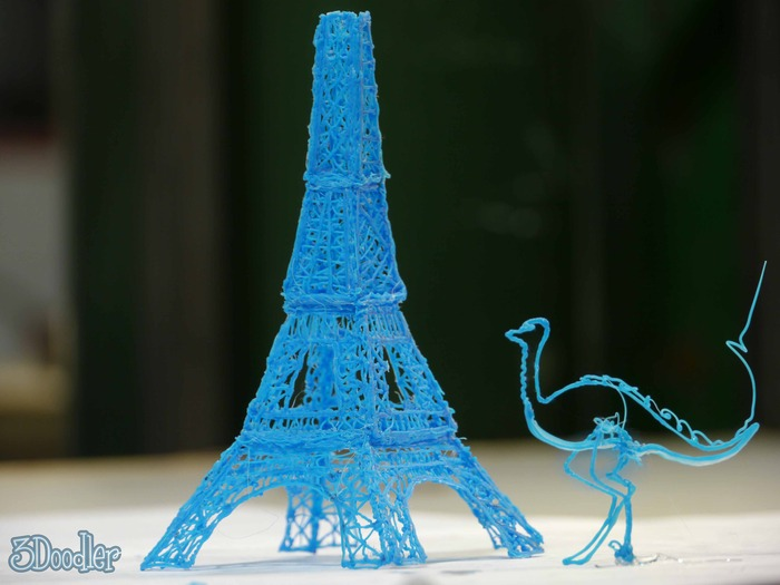 3Doodler objects