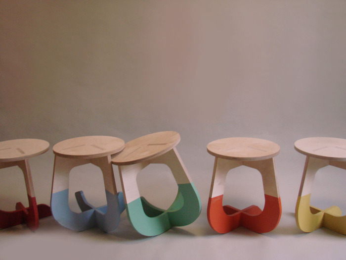 Discover cool ways of finishing your stool