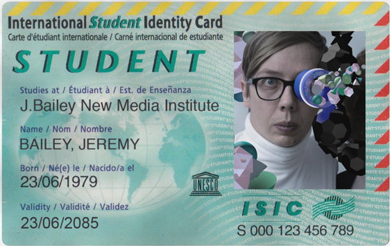 Pledge $49 to get an augmented reality student ID card created from your actual student ID and an augmented reality motivational Skype lecture at your school