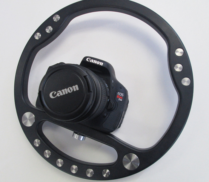 SteadyWheel With Canon Rebel T3i