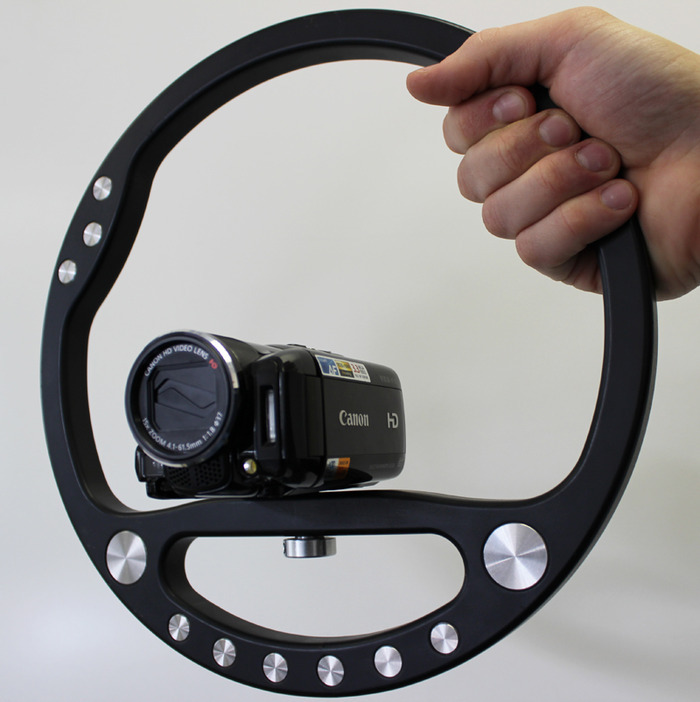 SteadyWheel With Canon HFM31