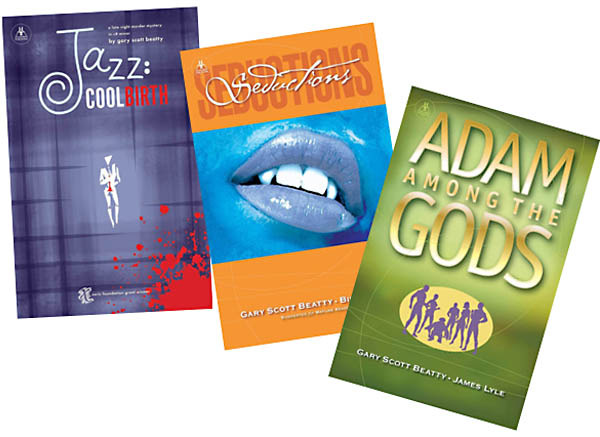 Jazz: Cool Birth, Seductions, and Adam Among the Gods: full color books, signed and mailed to you!