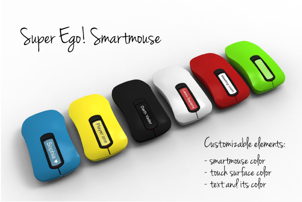 Renderings for the SUPER EGO! Smartmouse