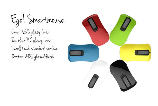 Ego! Smartmouse materials and colors