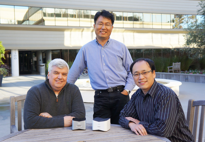 Frank Pesek (Chief Architect), Young Song (Founder & CEO), Richard Sah (Chief Product Officer)  @San Mateo HQ