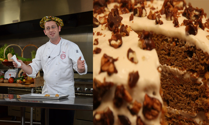 Ben Starr, Celebrity Chef and Cake-Maker Extraordinaire...And the Cake that May Become Your Dessert