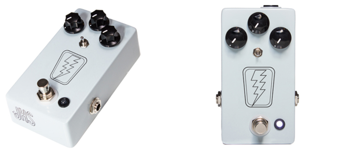 JHS SuperBolt used by John Mark on the new album :: With 3 simple knob controls named Volume, Tone, and Drive, you will have the ability to make any guitar rig drip with vintage soul and attitude that no pedal has ever delivered- until now.
