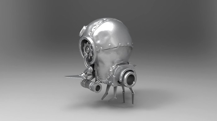 One of the enemies in Fathom