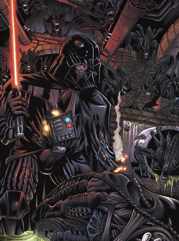 Mark McKenna (Darth Vader vs. Aliens)