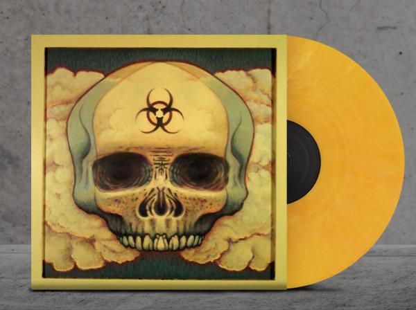 Mock-up of Pandemic LP.