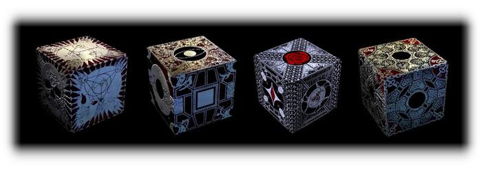Pandorics pictures: The Sanguine Apotheosis, The Jeremiad Enigma, The Cilicium Pandorics, Bedlam's Conspiracy