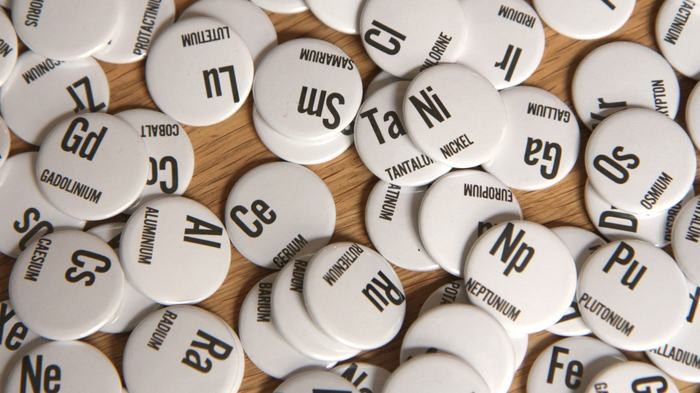 Element buttons - gleefully given to any supporter attending SXSW!