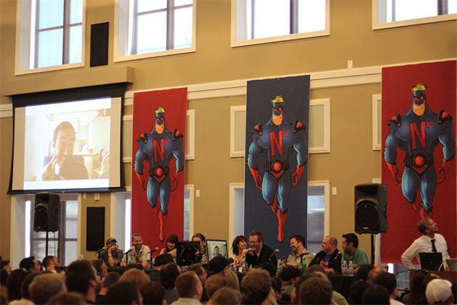 A panel at Nerdtacular!