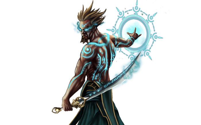 Battlemage hero artwork.