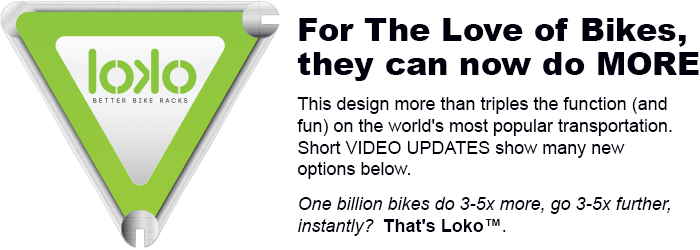 New apps make old tools more useful, like it did for telephones. Loko is SMART for any bike.