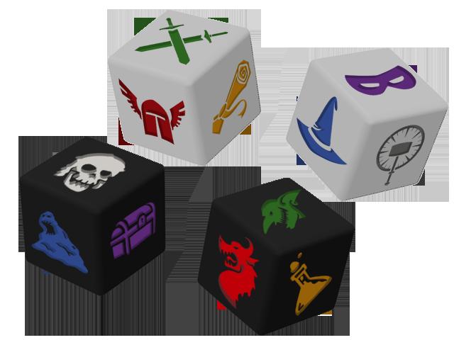 Dungeon roll : un donjon avec dédés  8efd9a235d155c7fb90de8453e7c3132_large