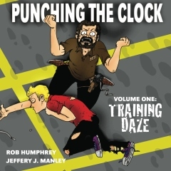 The cover art to Volume 1: Training Daze