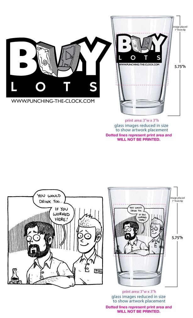 Pint Glass Mock-Ups