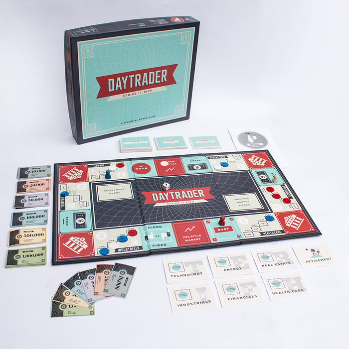 Daytrader - A Financial Board Game