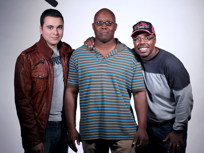 Ethan Leonard II (Director Of Photography), Melvin Graham (Director) & Darryl Vickers (Executive Producer) the creators of Sessions. See the Platt College blog interview with the creators of Sessions. http://networkedblogs.com/JajAj