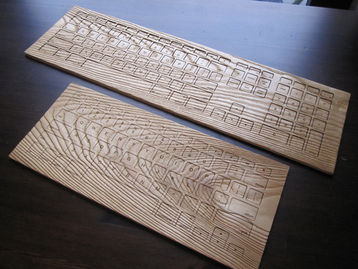Engrain: fresh off the laser cutter