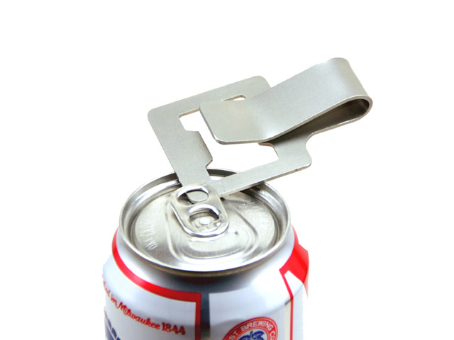 OneKlip: Opens your can beers too!