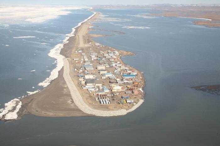 Aerial Shot of Kivalina, 2010