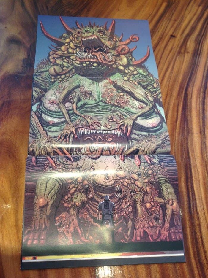 MONSTER GATEFOLD!!!