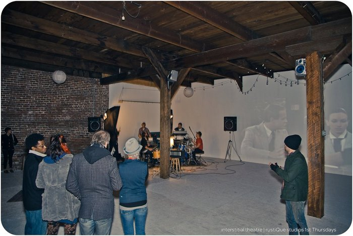 AUDIO/VISUAL show @ RUSTIQUE STUDIOS // December 2011