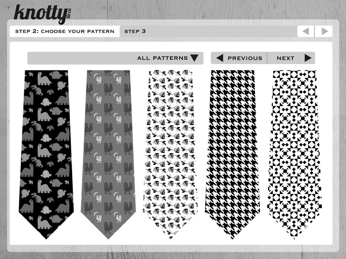Step 2: Choose your pattern