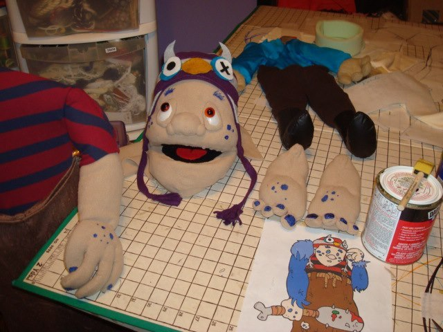 Construction of the Puppets.