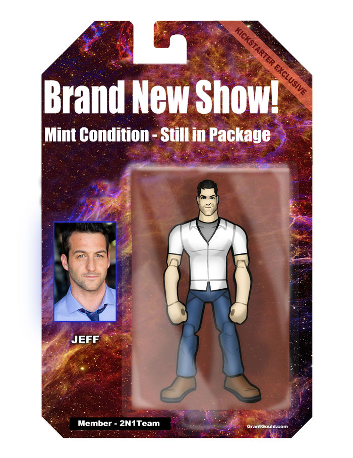 Exclusive Virtual Action Figure, yours absolutely FREE - just by viewing this page!