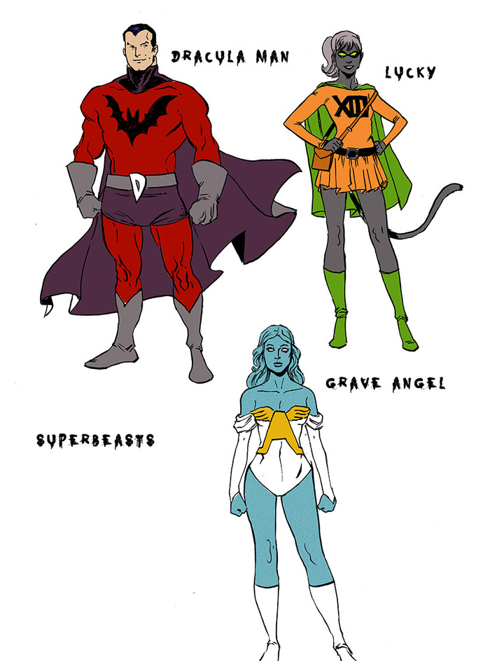 Superbeasts, from Tim Seeley!