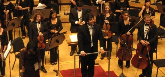Chicago Youth Symphony Orchestra: Josh DeVries, co-principal cellist