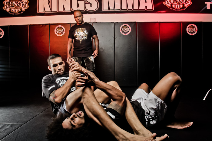 Book will feature chapters on the Master's Striking, Grappling, and Ground Game techniques.  Here as an exclusive pic of Fabricio Werdum as he puts an armbar on Jamie Yager.