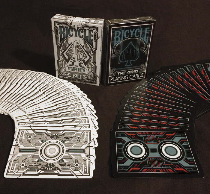 Grid 2 0 Bicycle 174 Playing Cards By 4pm Designs Kickstarter