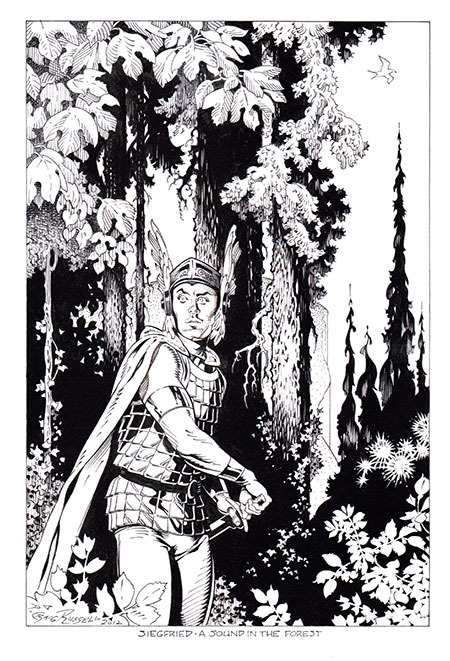 Original Art Reward from the Volume 2 Kickstarter campaign