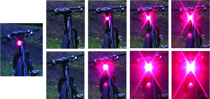 Modes - Left: Pharos-Flash/Flare-Flash; Top: Pharos100/Flare100; Bottom: Pharos300/Flare300