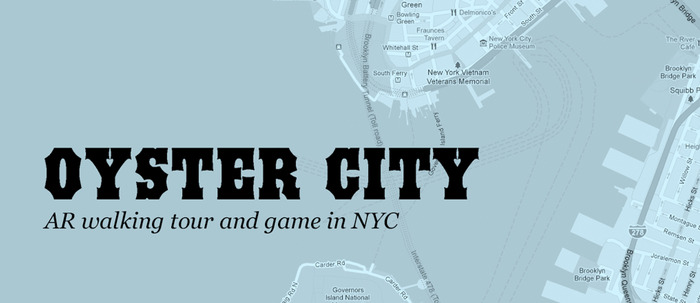 Here's our Oyster City T-shirt logo.