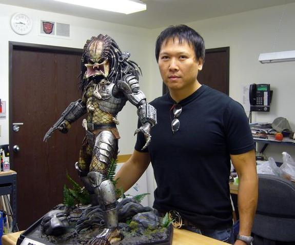 Steve Wang with The Predator
