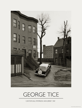 Car for Sale,poster 19x25 printed in quadtone,signed by George Tice,thanks to Bob Tursack of Brilliant Graphics,www.brilliantstudio.com