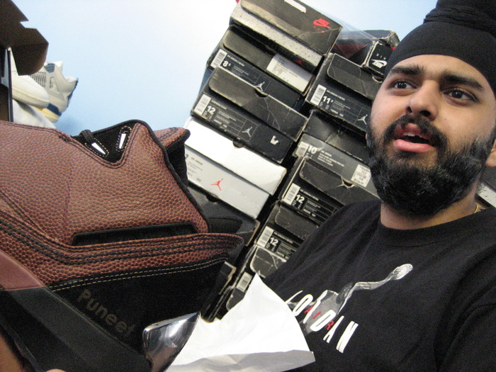 "Puneet aka ""Sole Supreme"" is a Jordan Head"