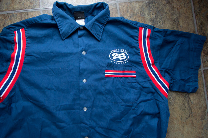 The original 2B Bowling Shirt (new designs may vary)