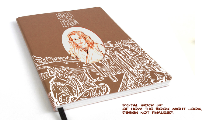 The mock up of the limited run leatherette edition from Soundless Soliloquy