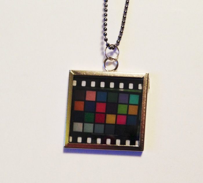 Kodachrome Pendant by Phoebe Owens (no two are alike)