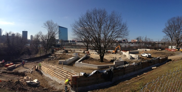 Paine's Park Construction Progress