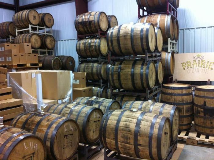 Our current barrels at Krebs Brewing Co. They would love to rest in their own home.