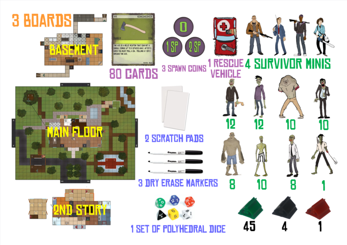 Game Inventory (*all items depicted are subject to changes)